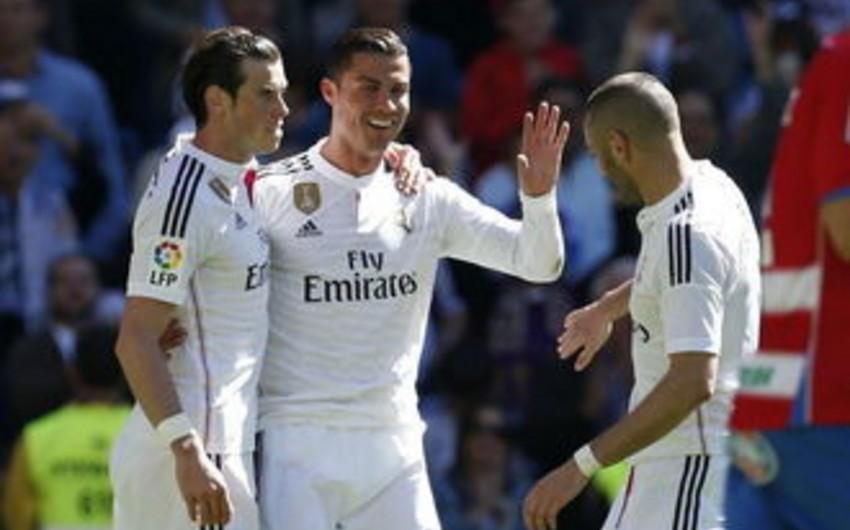 Рональду забил пять голов в матче испанского чемпионата