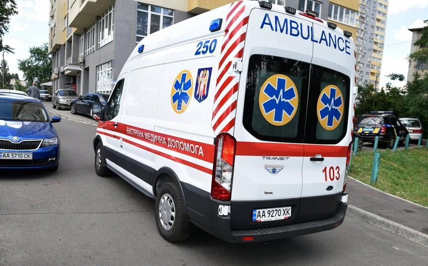 Kiyevdə partlayış olub, 2 nəfər yaralanıb