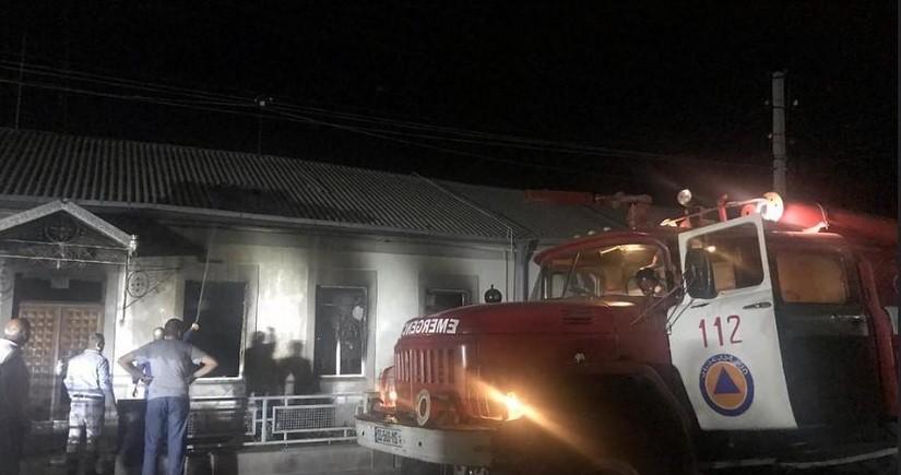 Ermənilər Gürcüstanda iğtişaşlar törədib, 5 bina yandırılıb