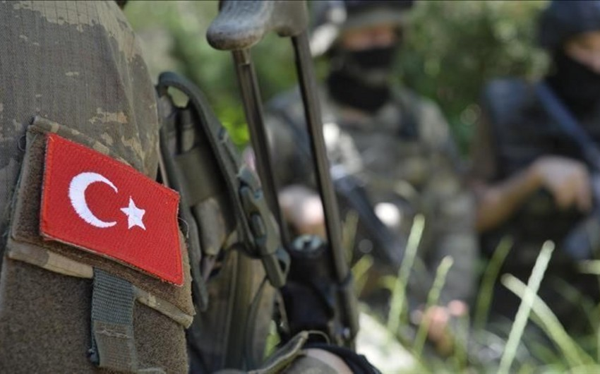 Türkiyədə 2 hərbçi şəhid olub, 1-i yaralanıb
