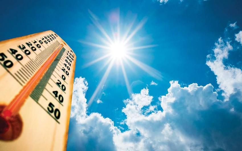 Завтра в Азербайджане ожидается аномальная жара