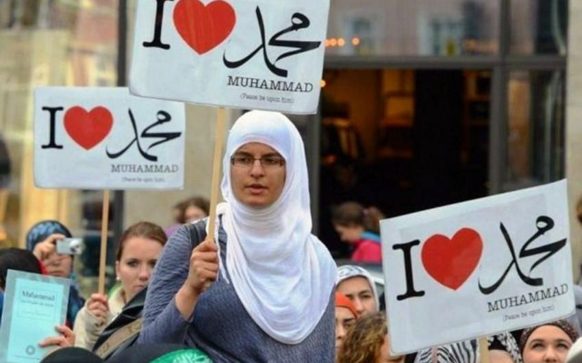 Araşdırma: Avropada müsəlmanların sayı yaxın 30 il ərzində artacaq