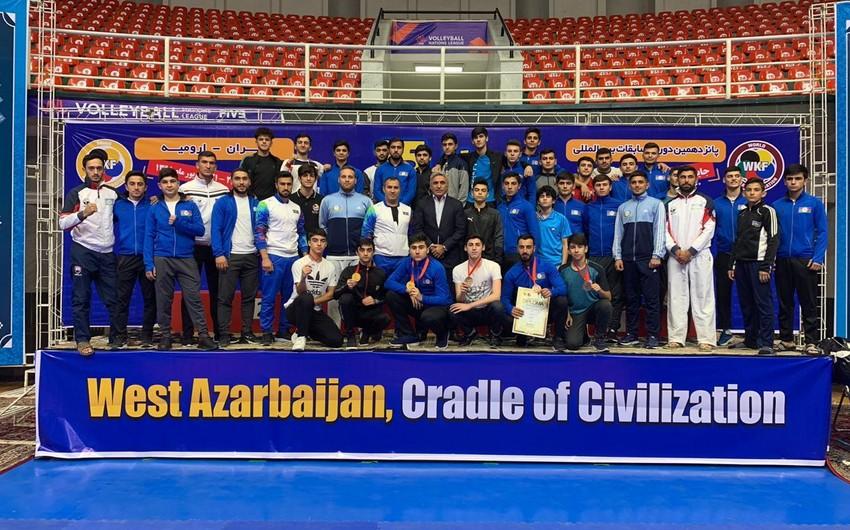 Azərbaycan karateçiləri İrandakı beynəlxalq turniri 6 medalla başa vurublar