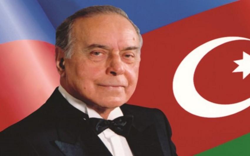 DİN-in Əlahiddə Çevik Polis Alayında ulu öndər anılıb