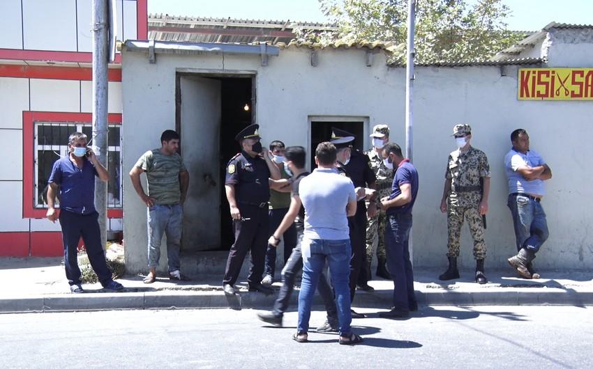 Bakı polisi qanunsuz heyvan kəsiminə qarşı reyd keçirib