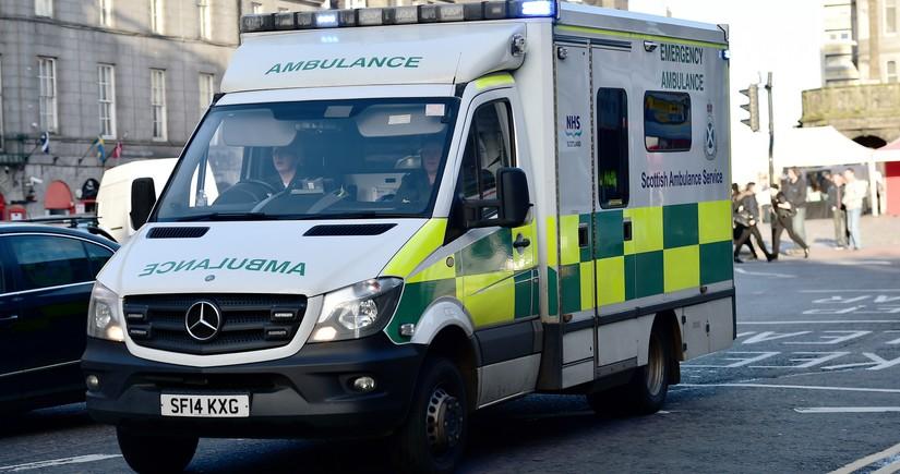 Мощный взрыв в Шотландии, есть пострадавшие