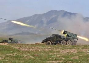 Минобороны: Армения вновь обстреляла территорию Тертерского района