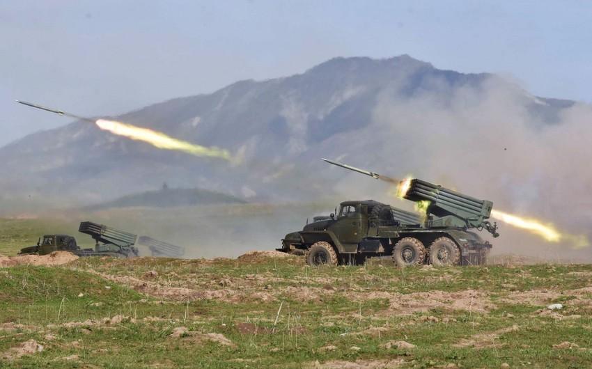 MN: Ermənistan Tərtər rayonunun ərazisini yenidən atəşə tutub