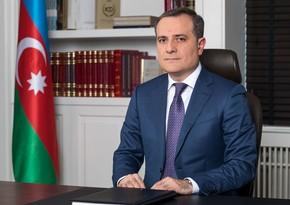 """Ceyhun Bayramov: """"Azərbaycan mütləq şərt yoxdursa, hərbi əməliyyatların aparılmasını irəli sürmür"""