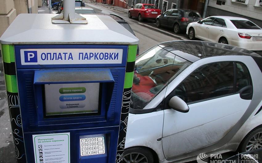 Bayram günləri Moskvada maşın dayanacaqları pulsuz olacaq