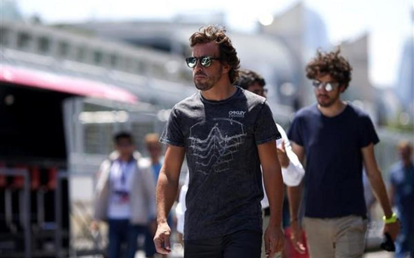 """Fernando Alonso: Azərbaycan Qran-prisində maksimum xal toplamaq üçün əlimizdən gələni edəcəyik"""""""