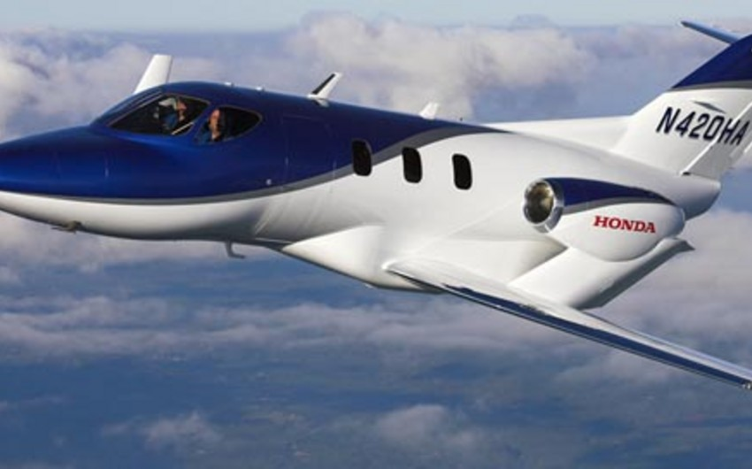 Honda produces airplane for businessmen