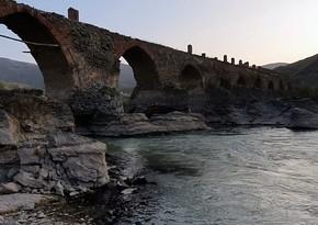 İşğaldan azad olunan Xudafərin kəndinin görüntüləri
