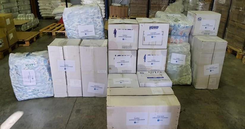 İsrail Azərbaycana humanitar yardım edib