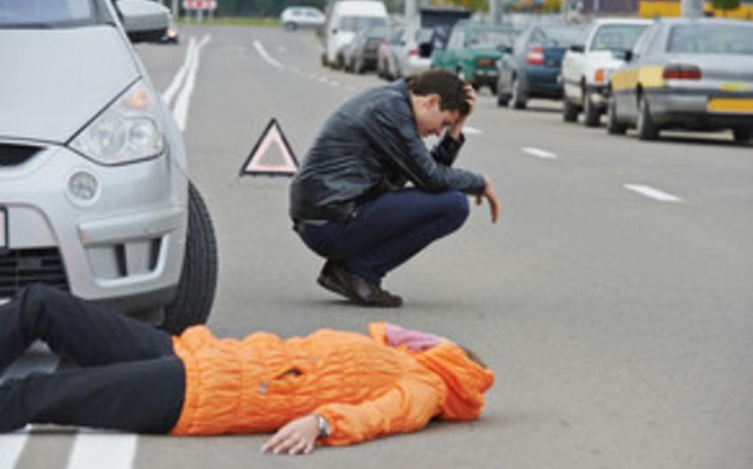 Şəmkirdə iki qadını vuraraq öldürən və hadisə yerindən qaçan sürücü tutulub
