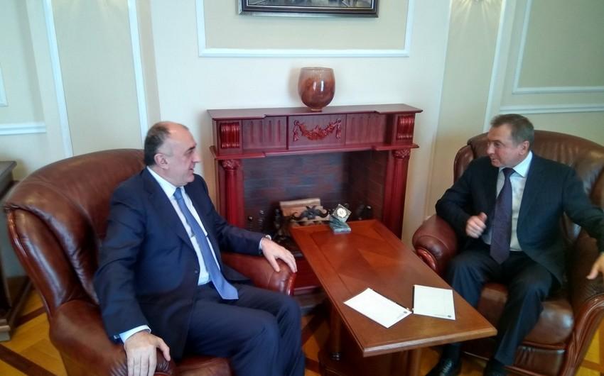 Azərbaycan və Belarus XİN başçıları əməkdaşlıq məsələlərini müzakirə ediblər - ƏLAVƏ OLUNUB