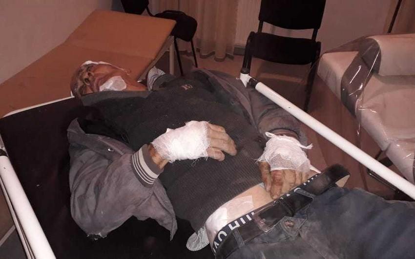 Грузовик сбил пешехода в Кюрдамире - ВИДЕО