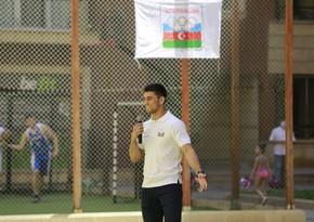 Azerbaijani athletes mark International Olympic Day
