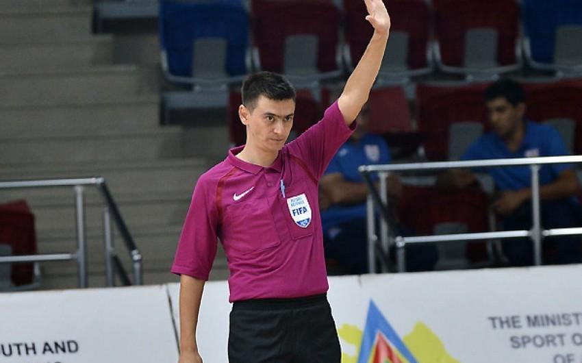 Azərbaycanın FIFA referisi Çempionlar Liqasının oyununa təyinat alıb