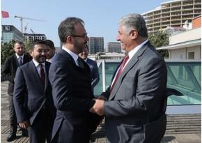 Турецкий министр выразил соболезнования в связи с кончиной Азада Рагимова