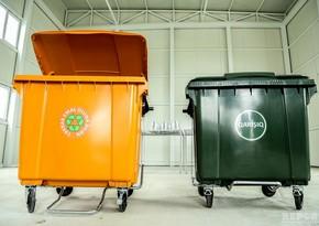 В Баку расследуется снижение количества мусорных контейнеров