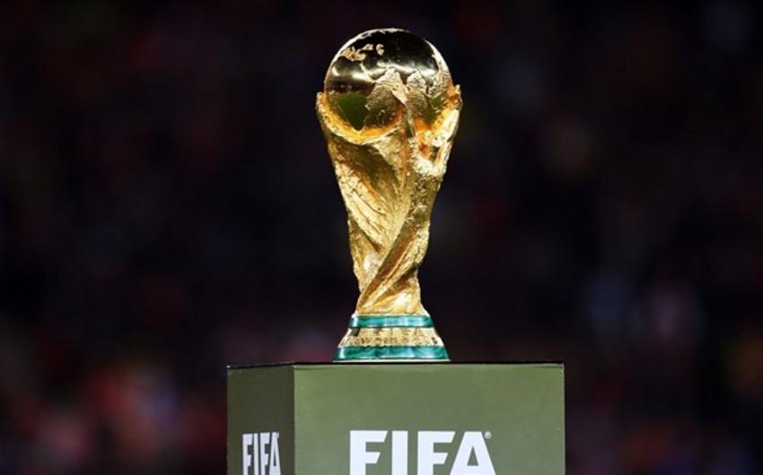 Futbol üzrə dünya çempionatının kuboku Azərbaycana gətiriləcək