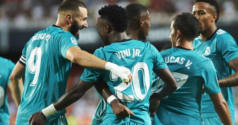 Real Madrid repeat record unbeaten run in La Liga away