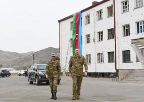 Prezident və birinci xanım Qubadlı rayonunda səfərdə olublar