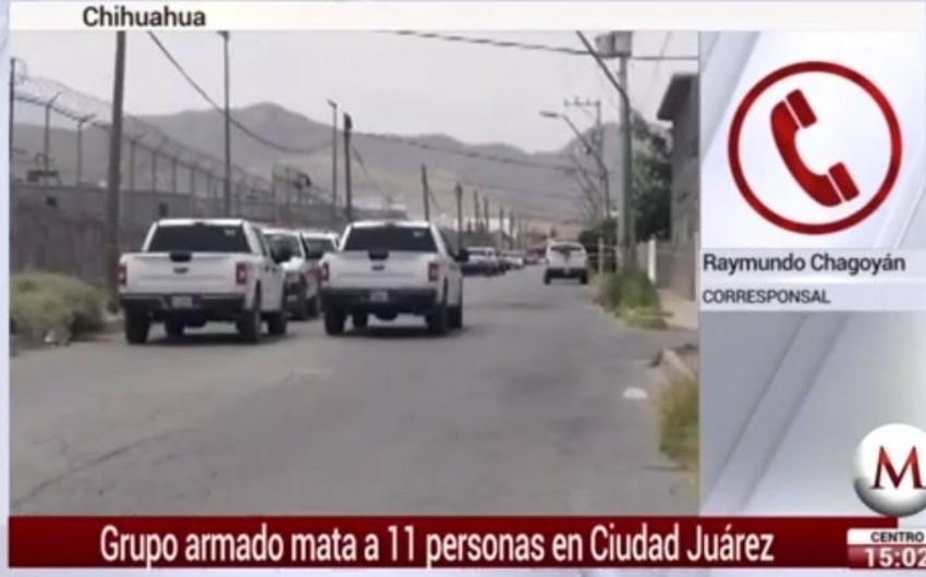 Meksikada yaşayış evində 11 nəfər qətlə yetirilib - VİDEO