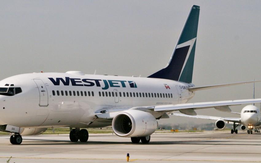 Kanadada sərnişin təyyarəsi tüstülənmə səbəbindən aeroporta qayıdıb
