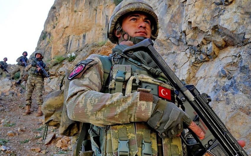 Türkiyə ordusu Suriyanın şimalında 5 terrorçunu zərərsizləşdirib