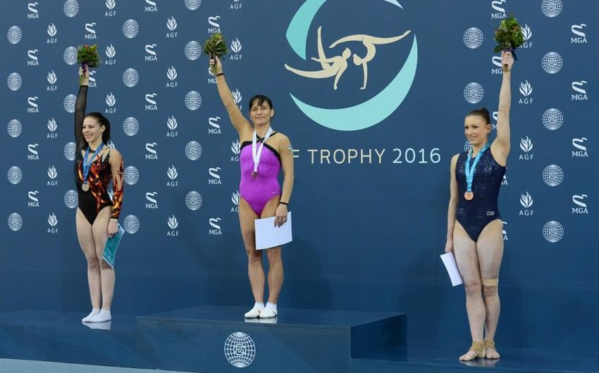 Azərbaycan idman gimnastikası üzrə Dünya Kuboku yarışlarında dördüncü medalını qazanıb - FOTO