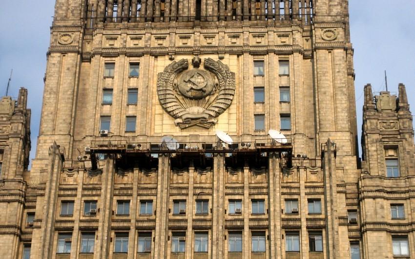 Rusiya öz vətəndaşlarına Yerevanda mitinqlər keçirilən ərazilərə getməməyi tövsiyə edib
