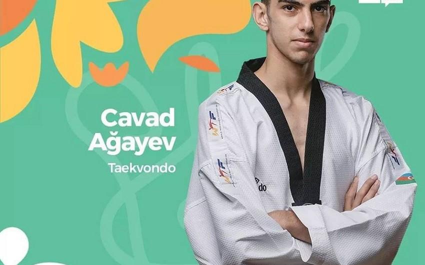 Azərbaycan taekvondoçusu Olimpiadada bürünc medal qazanıb - FOTO