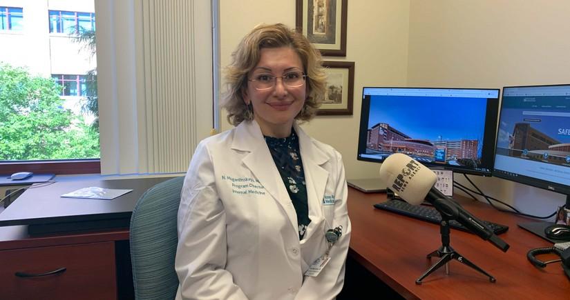 Наргиз Муганлинская: Получить медицинское образование в Америке - нелегко