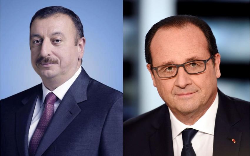 Azərbaycan Prezidenti Fransua Ollanda başsağlığı verib