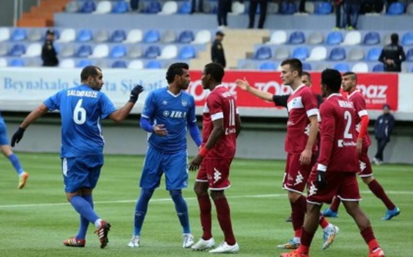 Azərbaycan Premyer Liqasında XIX turun açılış oyununda qalib müəyyənləşməyib