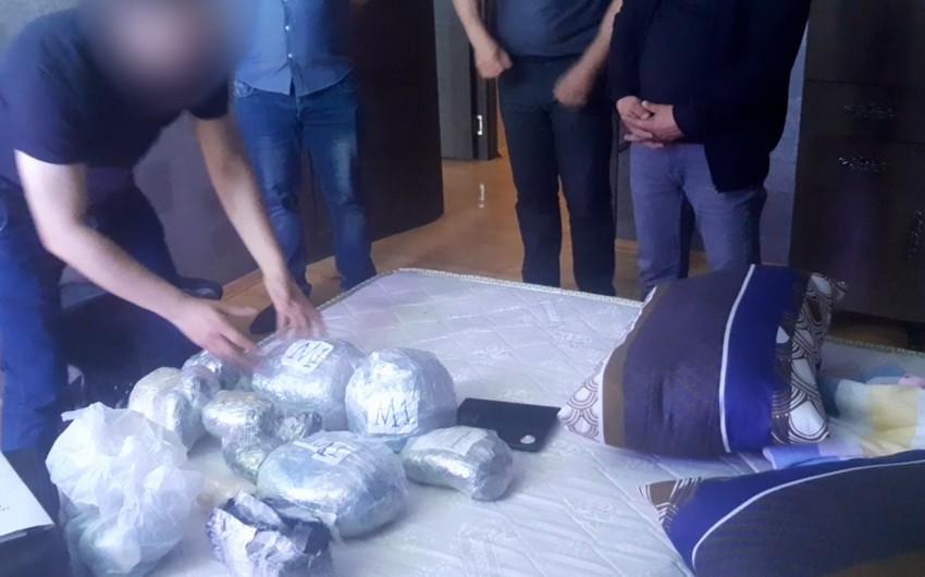 Polis əməliyyatlar keçirdi, 35 kq narkotik dövriyyədən çıxarıldı - VİDEO