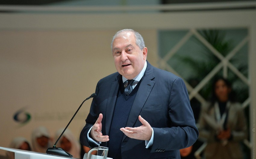 Ermənistan prezidentinin vəziyyəti ağırlaşıb