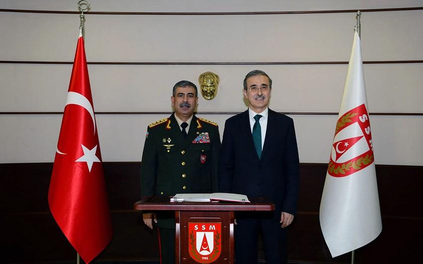 Обсуждены вопросы военно-технического сотрудничества между Азербайджаном и Турцией
