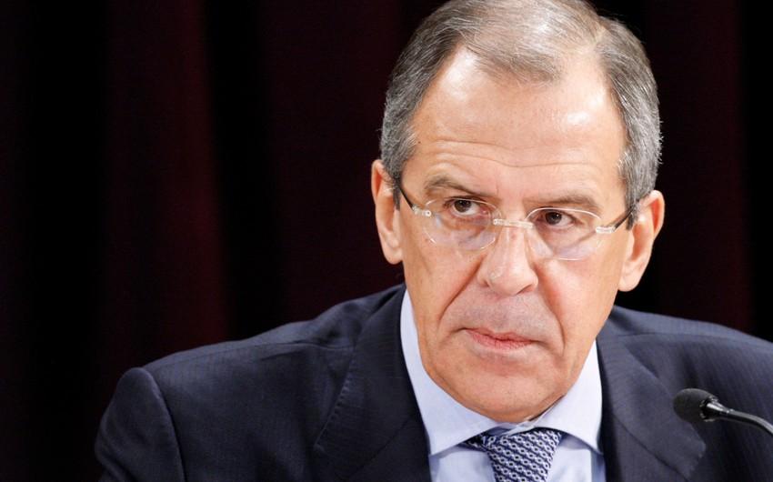 Lavrov ötən ilin üç başlıca hadisəsindən danışıb