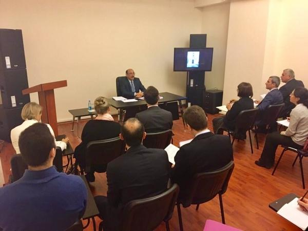 Ministry of Culture and Tourism holds a meeting