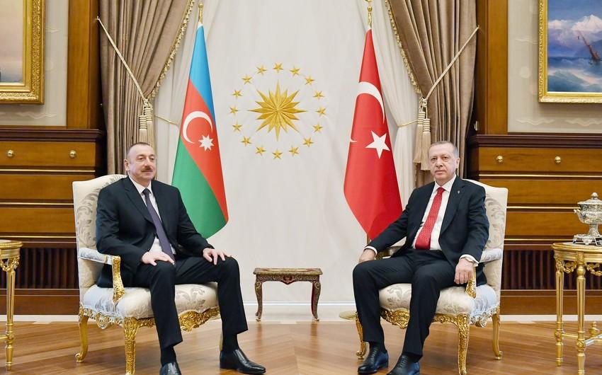 Azərbaycan və Türkiyə prezidentləri -