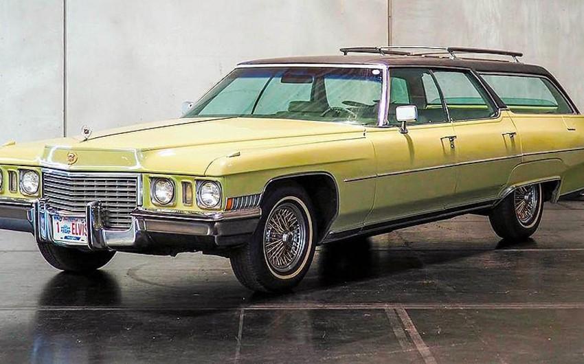 Elvis Preslinin nadir Cadillac avtomobili hərracda gözlənilmədən ucuz qiymətə satılıb