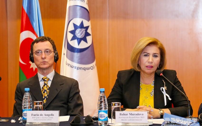 Deputy Chairman: Equality of rights is fundamental in legislative documents of Azerbaijan