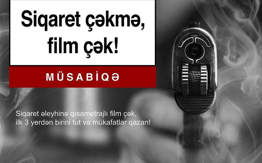 """Azərbaycanda """"Siqaret çəkmə, film çək!"""" mövzusunda qısa film müsabiqəsinin vaxtı uzadılıb"""