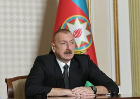 Ilham Aliyev: F-16s are here as sign of solidarity