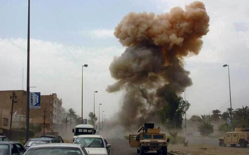 Bağdad bazarında partlayış törədilib, 8 nəfər ölüb