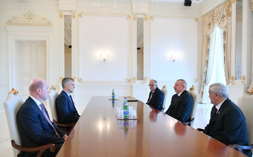 Prezident İlham Əliyev BP-nin Direktorlar Şurasının sədrini qəbul edib - YENİLƏNİB