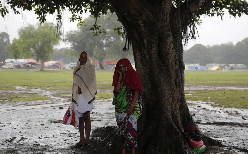 Hindistanda leysan yağışları 40-dan çox adamın ölümünə səbəb oldu